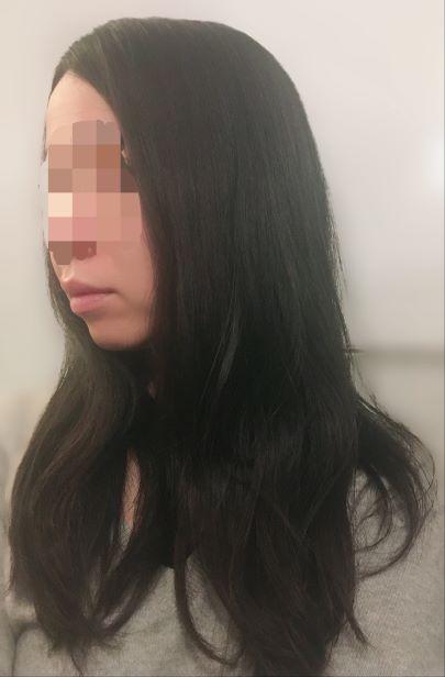 イオニティドライヤーの美髪効果の写真