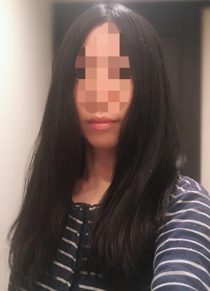 復元ドライヤーの美髪効果の写真