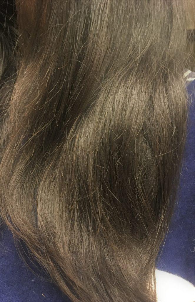 ホリスティックキュアドライヤーRp.(レシピ)の毛先効果の写真