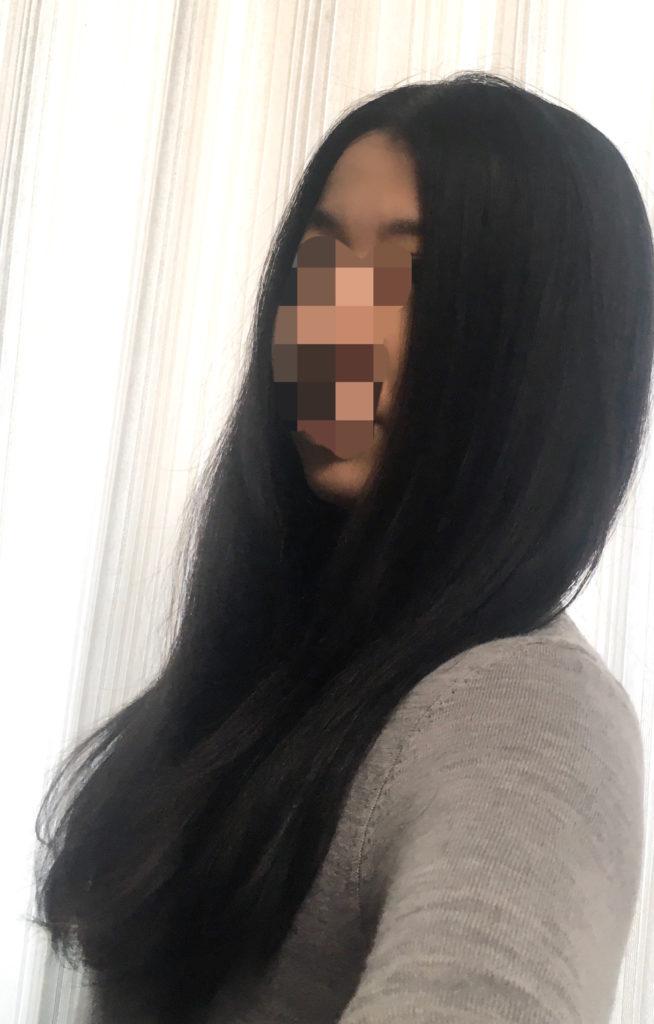 ヤーマンスカルプドライヤーの美髪効果を説明する写真