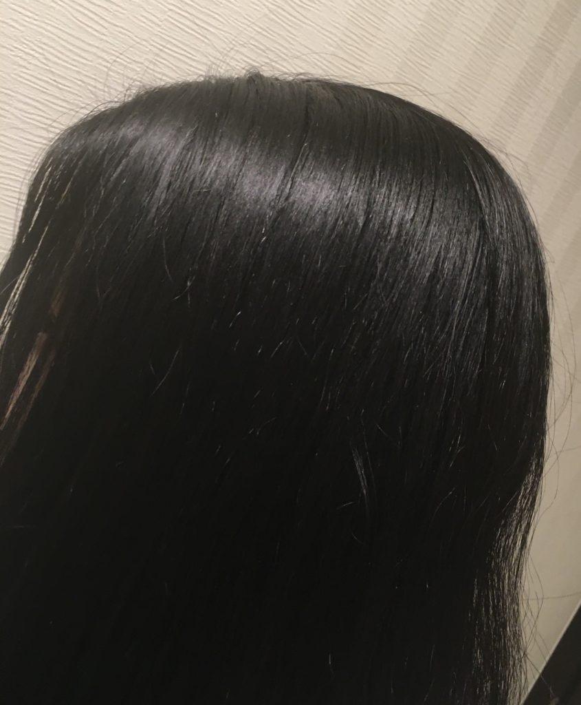 シャープドレープフロードライヤーの美髪効果の写真