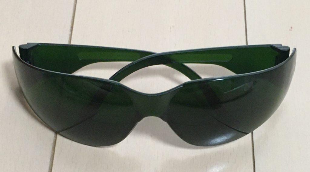 ドクターエルミスゼロに付属するサングラスの写真