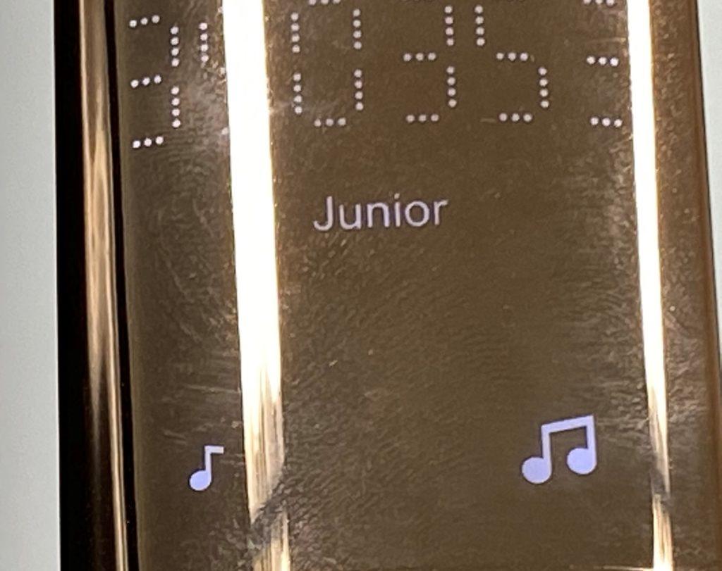 BiiTo2(ビート2)の連続照射モードの写真