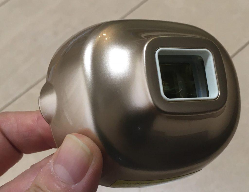 ヤーマンの脱毛器レイボーテRのスポットヘッドの写真