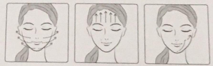 アイスレディ美顔器のDaily Currentモードの写真