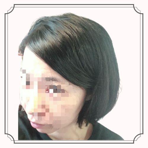KINUJOドライヤーの美髪効果の写真