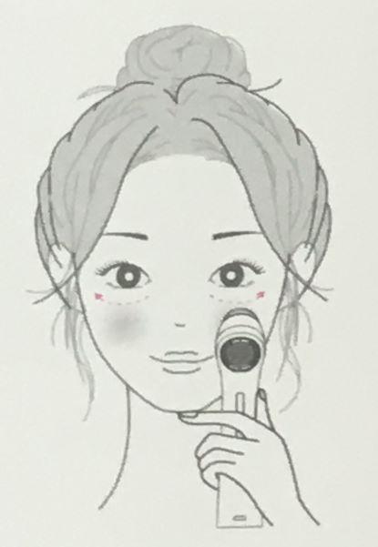 オーパスビューティー04美顔器の目元ケアの方法