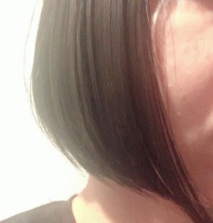 ナノケアストレートアイロンの毛先の効果